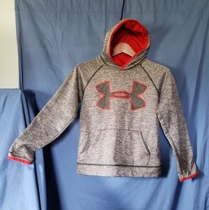 Youth - Med Hooded under armor pull over